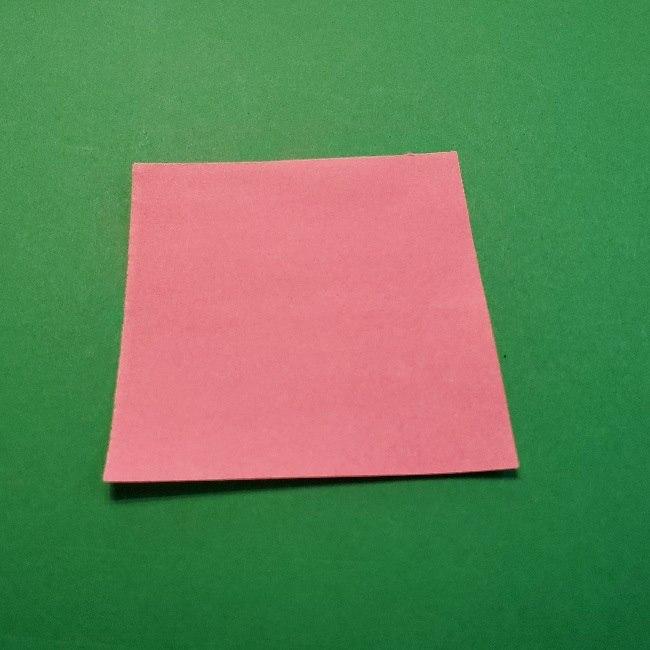 どうぶつの森の折り方「ももこ」の折り紙 (12)
