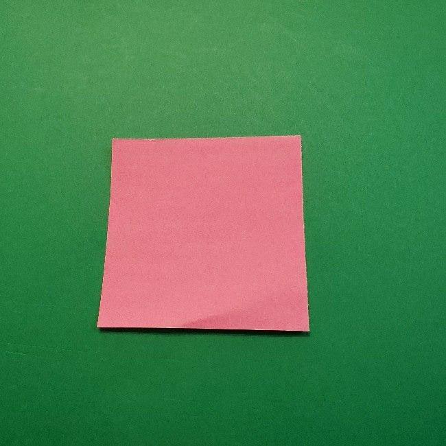どうぶつの森の折り方「ももこ」の折り紙 (23)