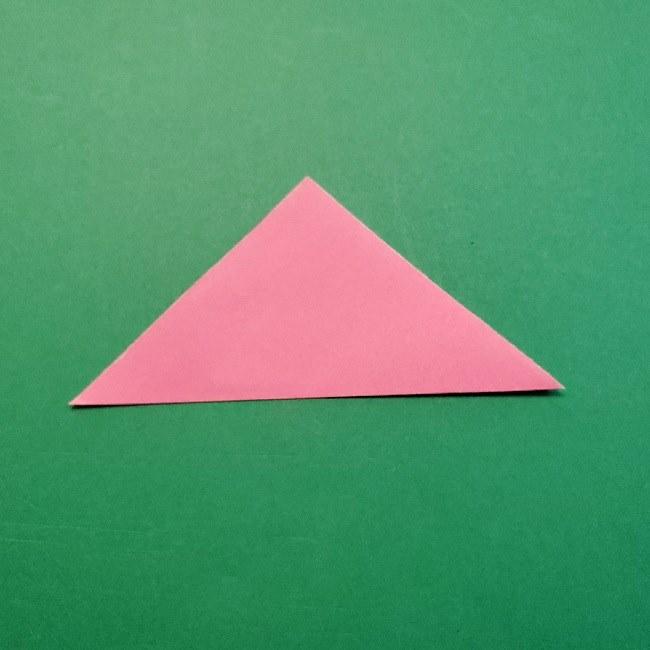 どうぶつの森の折り方「ももこ」の折り紙 (24)