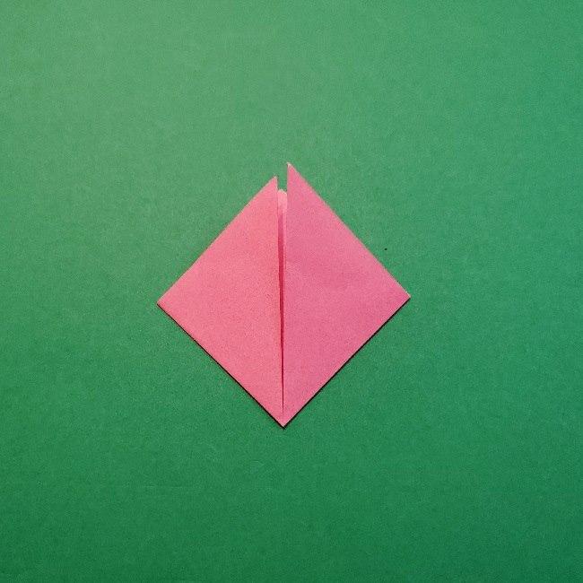どうぶつの森の折り方「ももこ」の折り紙 (25)