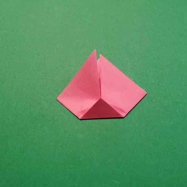 どうぶつの森の折り方「ももこ」の折り紙 (26)