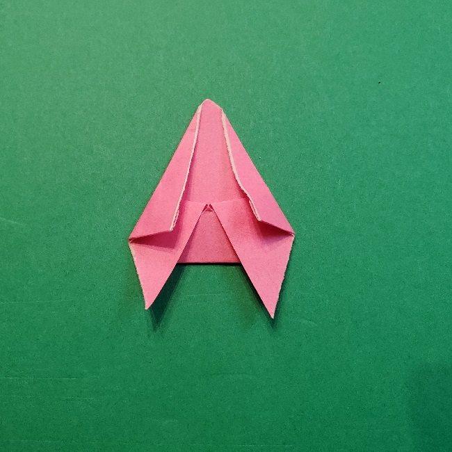どうぶつの森の折り方「ももこ」の折り紙 (28)