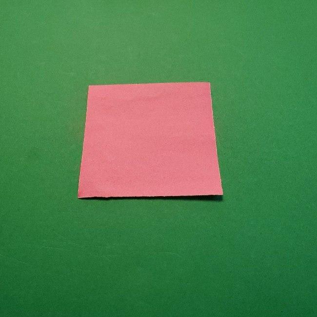 どうぶつの森の折り方「ももこ」の折り紙 (3)