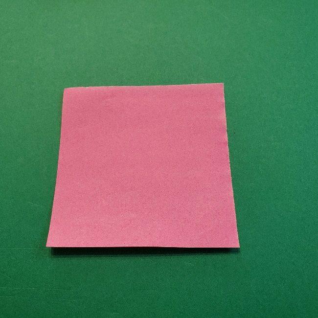 どうぶつの森の折り方「ももこ」の折り紙 (31)