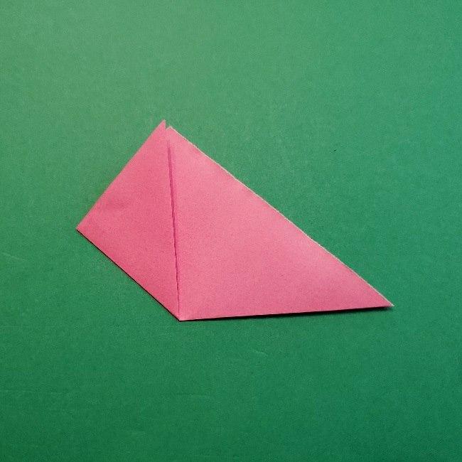 どうぶつの森の折り方「ももこ」の折り紙 (33)