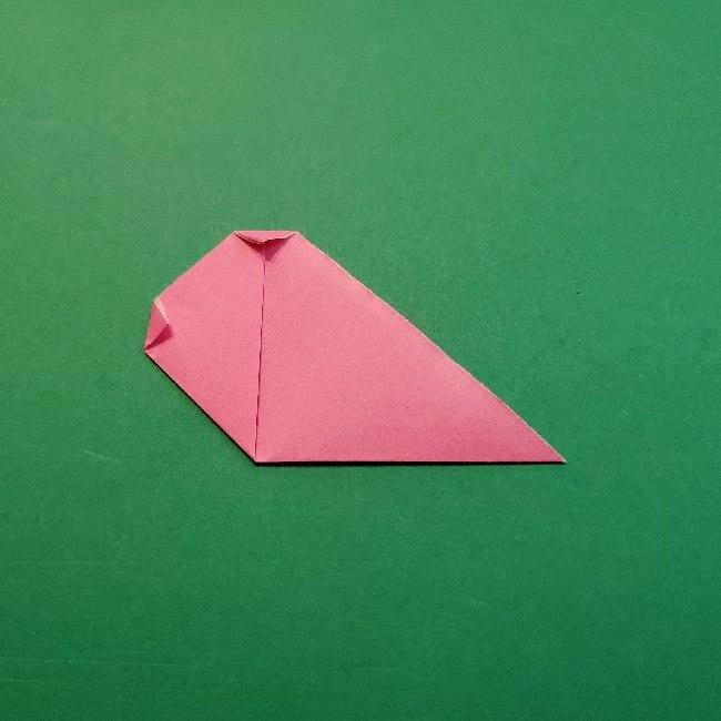 どうぶつの森の折り方「ももこ」の折り紙 (34)