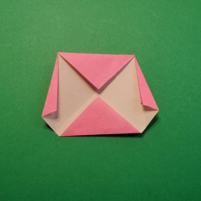 どうぶつの森の折り方「ももこ」の折り紙 (9)