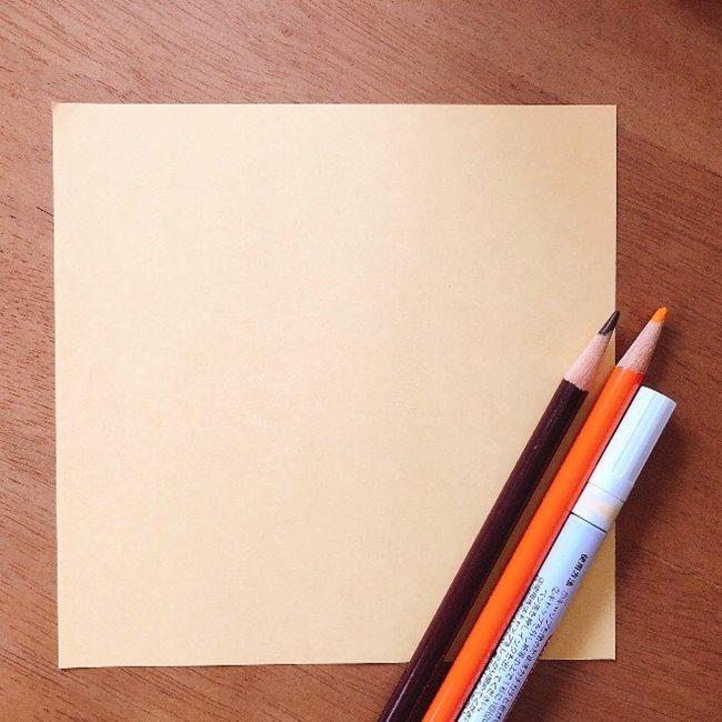 どうぶつの森の折り紙キャラメル*用意するもの