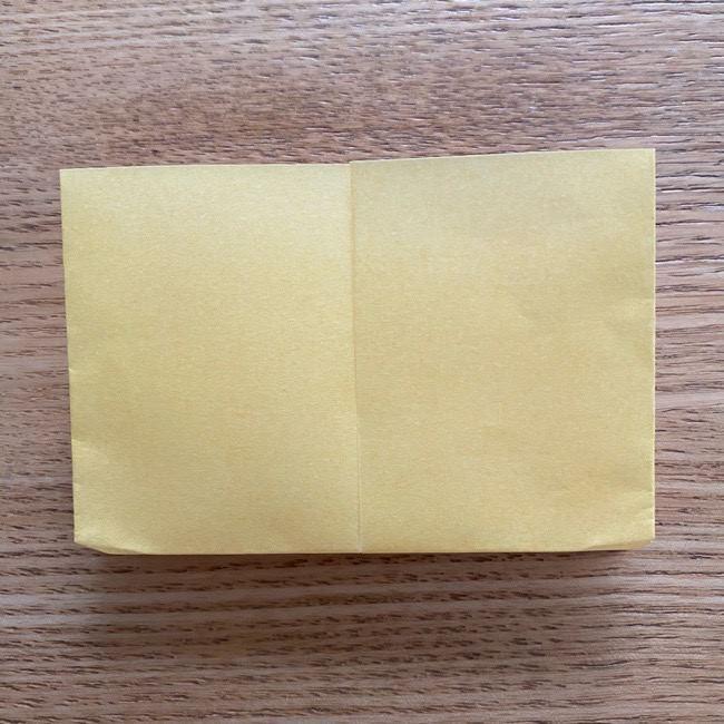 アンパンマン『チーズ』折り紙の折り方作り方 (10)