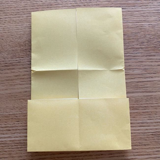 アンパンマン『チーズ』折り紙の折り方作り方 (11)