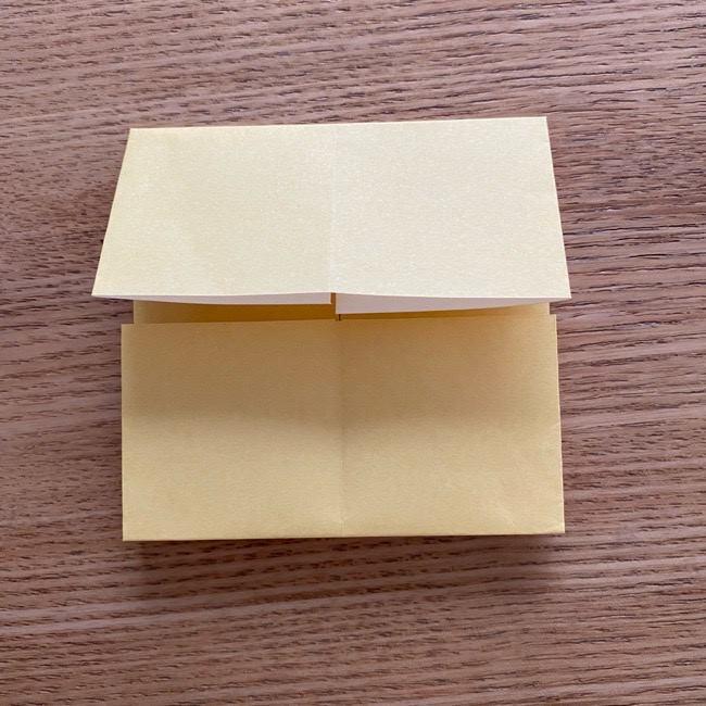 アンパンマン『チーズ』折り紙の折り方作り方 (13)