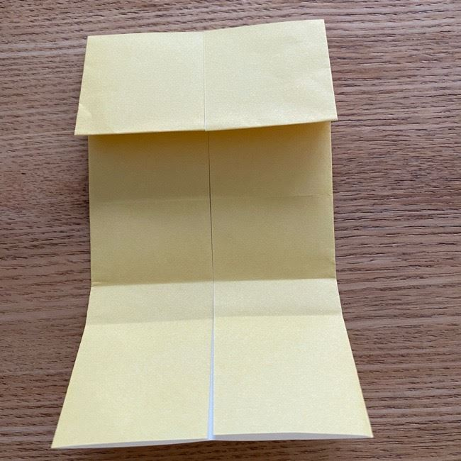 アンパンマン『チーズ』折り紙の折り方作り方 (16)