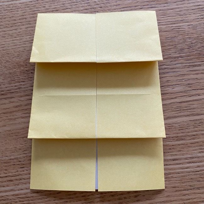 アンパンマン『チーズ』折り紙の折り方作り方 (18)
