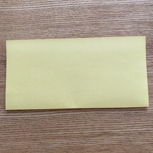アンパンマン『チーズ』折り紙の折り方作り方 (2)
