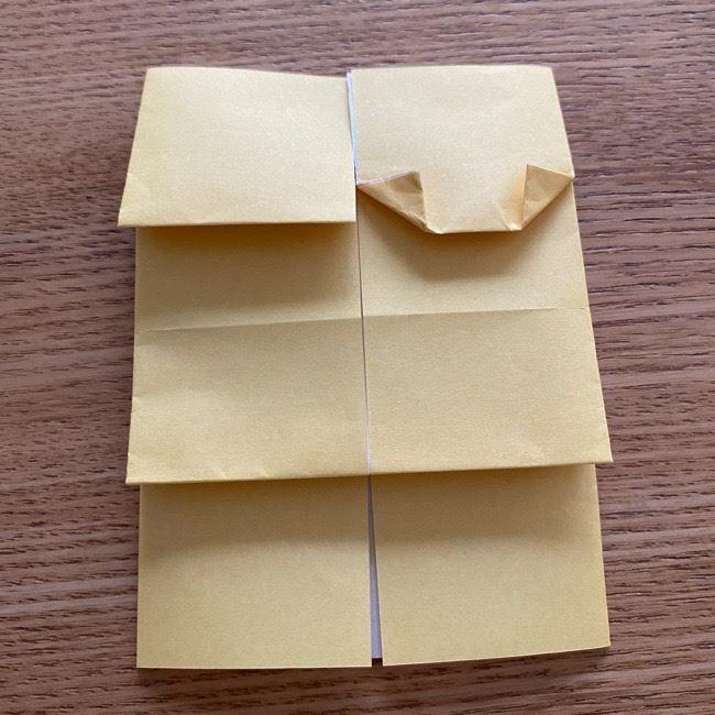 アンパンマン『チーズ』折り紙の折り方作り方 (23)