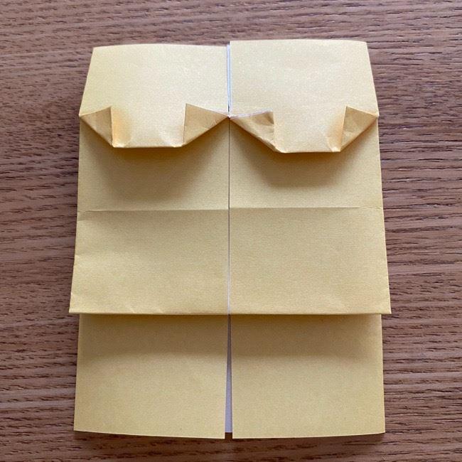 アンパンマン『チーズ』折り紙の折り方作り方 (24)