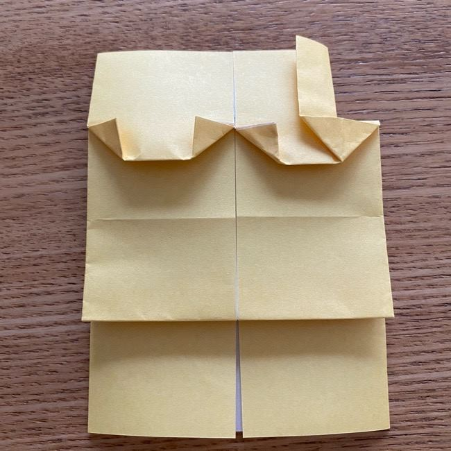 アンパンマン『チーズ』折り紙の折り方作り方 (26)