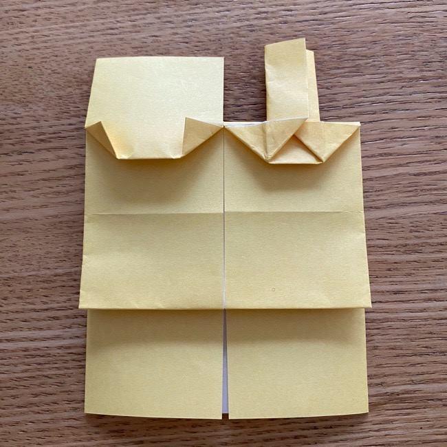 アンパンマン『チーズ』折り紙の折り方作り方 (27)