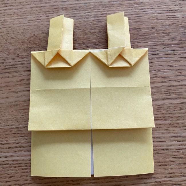 アンパンマン『チーズ』折り紙の折り方作り方 (28)