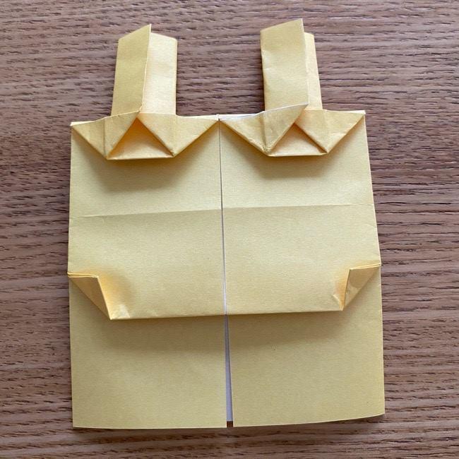 アンパンマン『チーズ』折り紙の折り方作り方 (29)