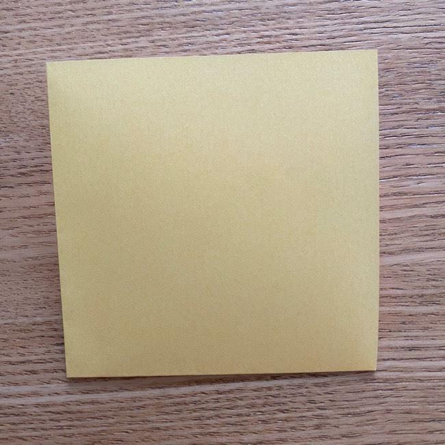 アンパンマン『チーズ』折り紙の折り方作り方 (3)