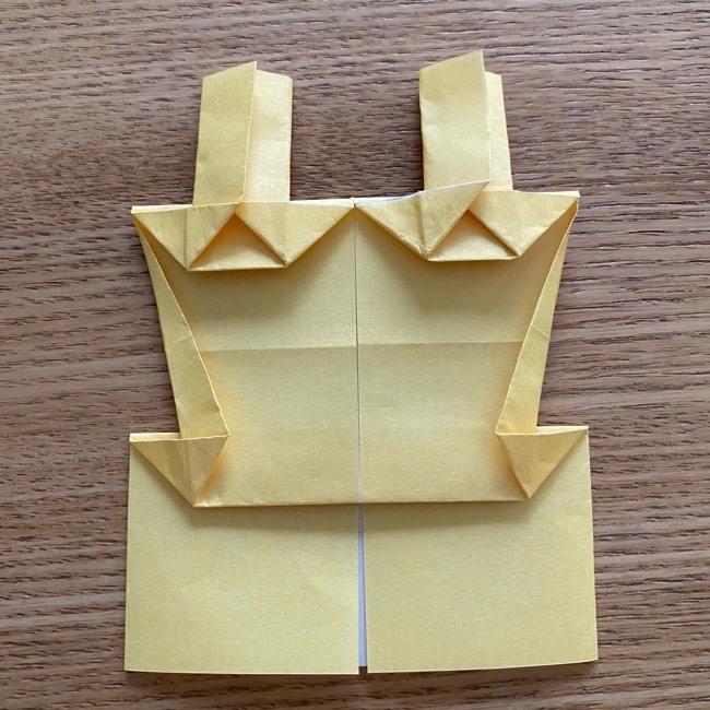 アンパンマン『チーズ』折り紙の折り方作り方 (32)
