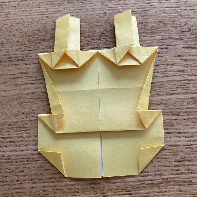 アンパンマン『チーズ』折り紙の折り方作り方 (33)