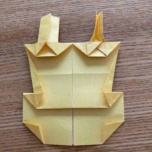 アンパンマン『チーズ』折り紙の折り方作り方 (34)