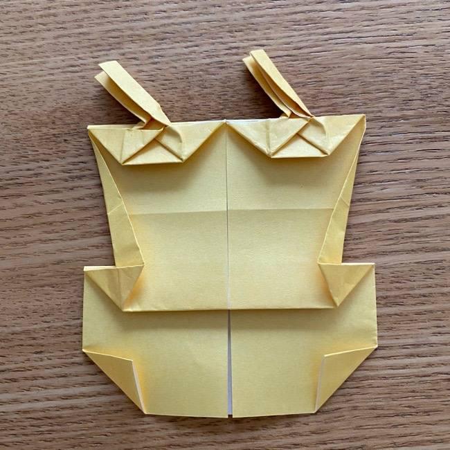 アンパンマン『チーズ』折り紙の折り方作り方 (36)
