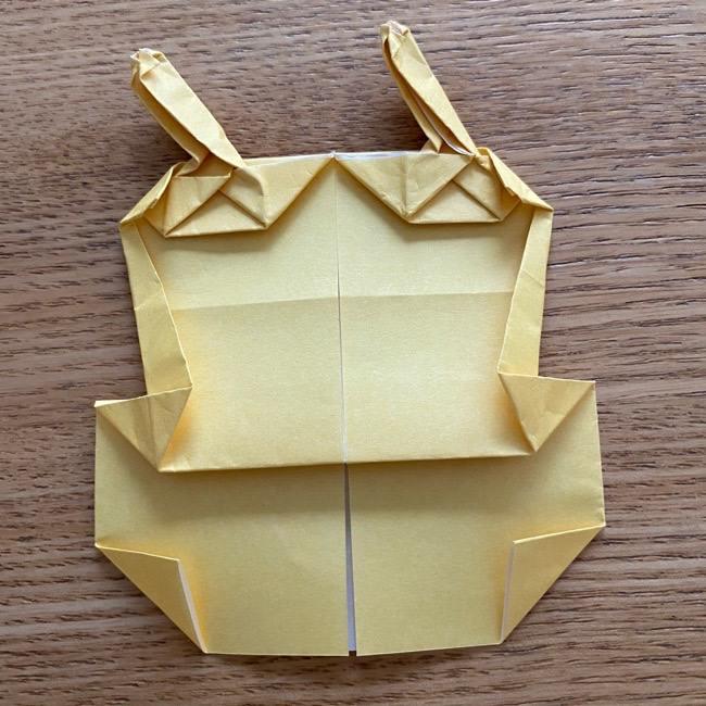 アンパンマン『チーズ』折り紙の折り方作り方 (38)