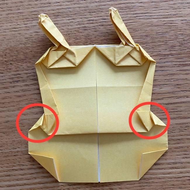アンパンマン『チーズ』折り紙の折り方作り方 (39)