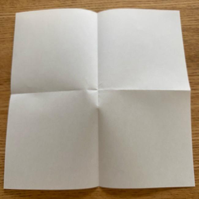 アンパンマン『チーズ』折り紙の折り方作り方 (4)