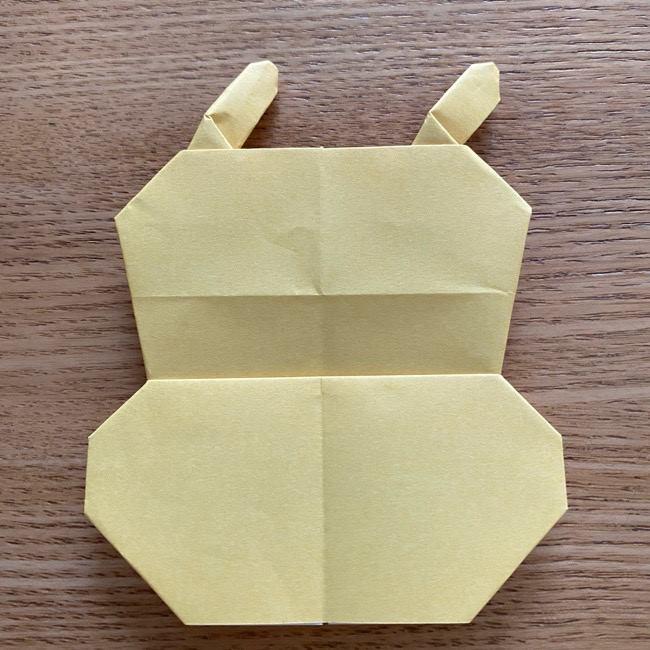 アンパンマン『チーズ』折り紙の折り方作り方 (40)