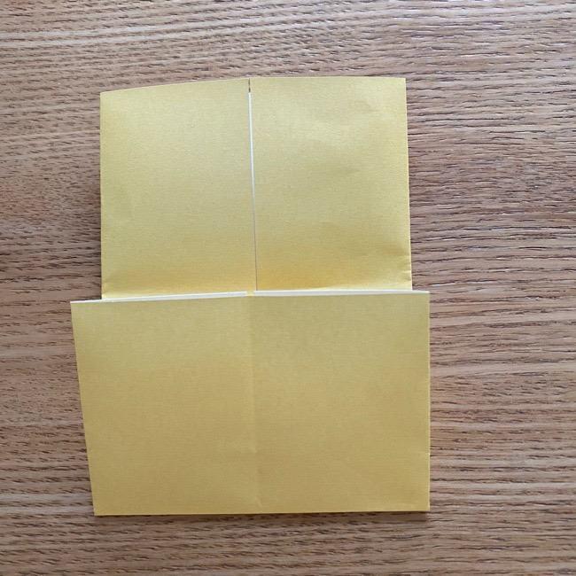 アンパンマン『チーズ』折り紙の折り方作り方 (6)