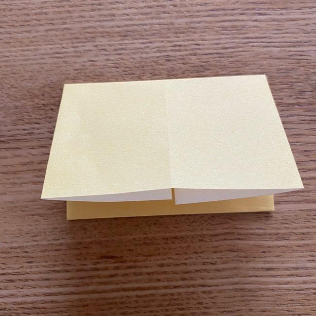 アンパンマン『チーズ』折り紙の折り方作り方 (7)