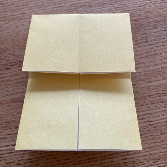 アンパンマン『チーズ』折り紙の折り方作り方 (8)