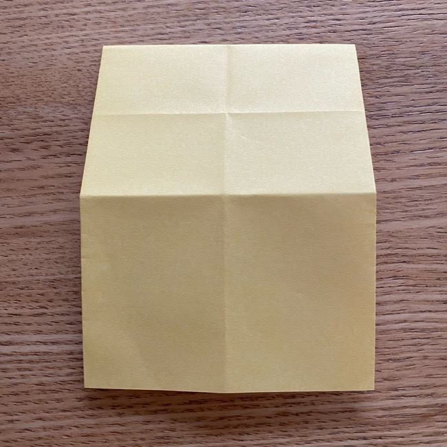 アンパンマン『チーズ』折り紙の折り方作り方 (9)