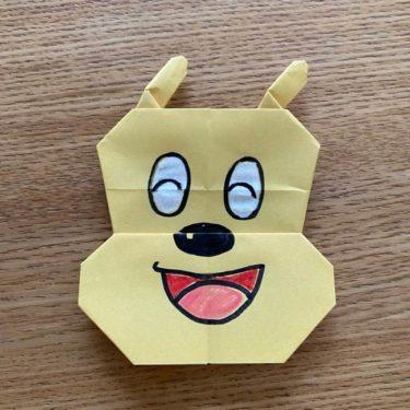 アンパンマン『名犬チーズ』折り紙の折り方作り方★簡単かわいいキャラクター