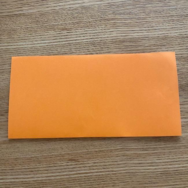 カレーパンマンの折り紙の折り方は簡単♪ (1)