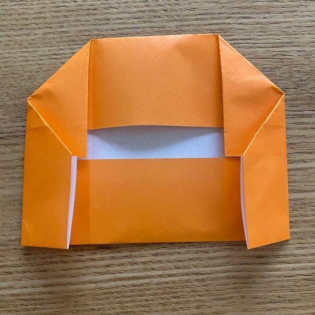 カレーパンマン 折り紙の折り方は簡単♪ (11)
