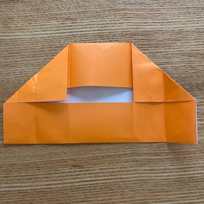 カレーパンマン 折り紙の折り方は簡単♪ (12)