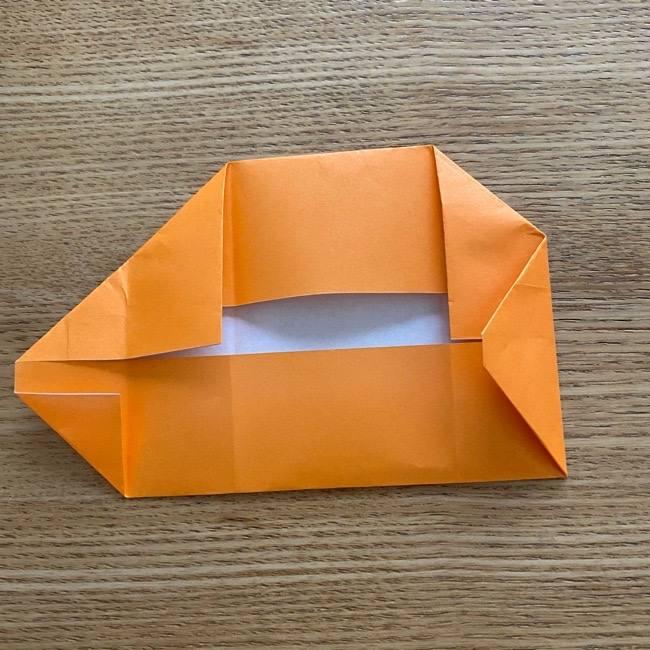 カレーパンマン 折り紙の折り方は簡単♪ (15)