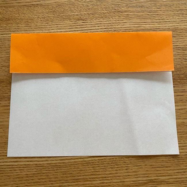 カレーパンマン 折り紙の折り方は簡単♪ (3)