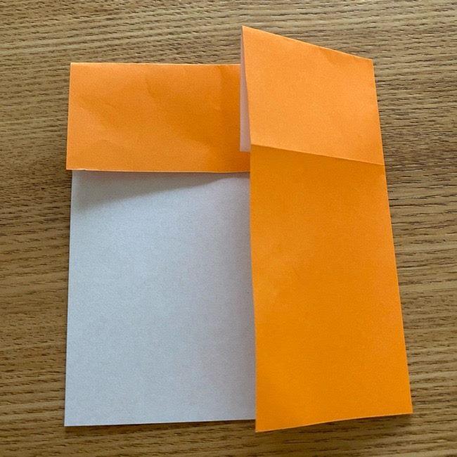カレーパンマン 折り紙の折り方は簡単♪ (4)
