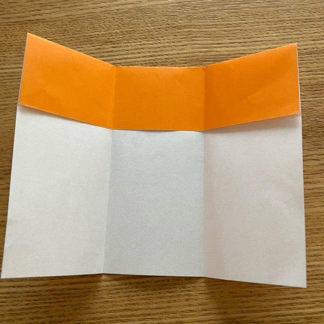 カレーパンマン 折り紙の折り方は簡単♪ (6)