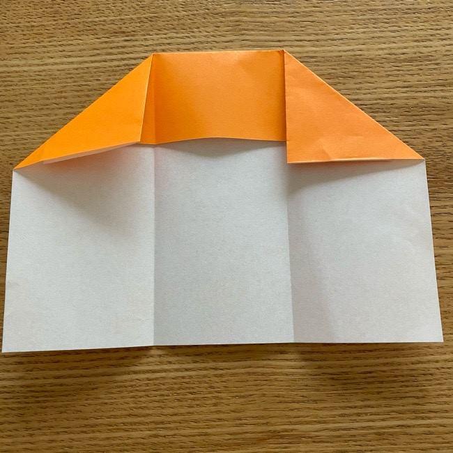 カレーパンマン 折り紙の折り方は簡単♪ (8)