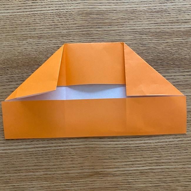 カレーパンマン 折り紙の折り方は簡単♪ (9)