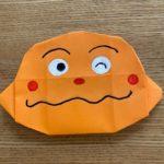 カレーパンマン(顔)折り紙の折り方は簡単♪子供と作れるアンパンマンキャラクター