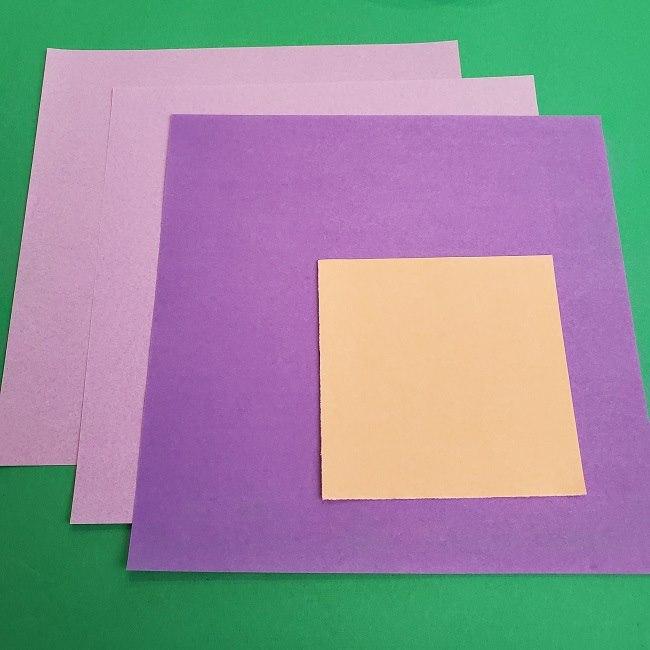 キュアアースの折り紙*用意するもの (1)