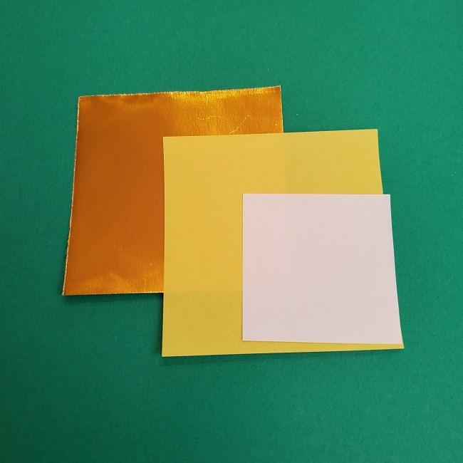 キュアアースの折り紙*用意するもの (2)